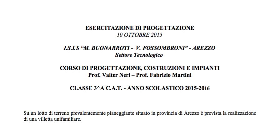 Professore Fabrizio Martini istituto Buonarroti Fossombroni Geometri Arezzo